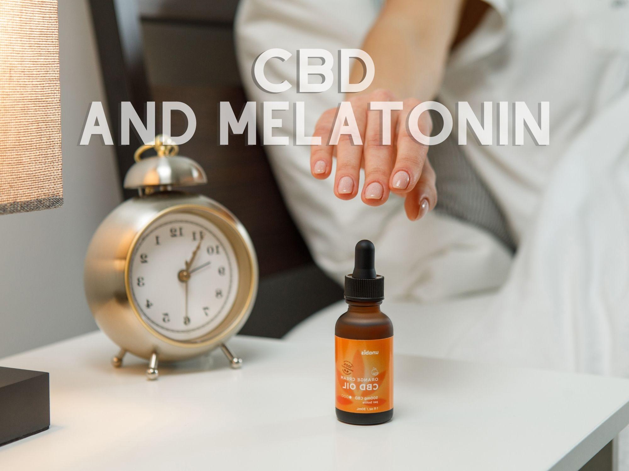 CBD and melatonin